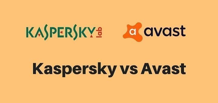 Kaspersky vs Avast Comparison