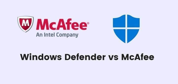 Windows Defender vs McAfee