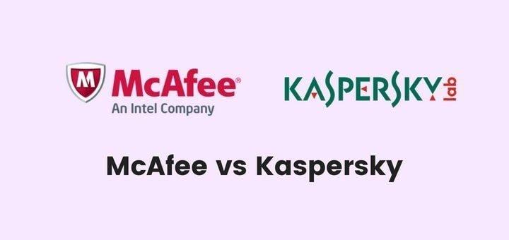 McAfee vs Kaspersky