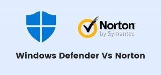 Windows Defender vs Norton