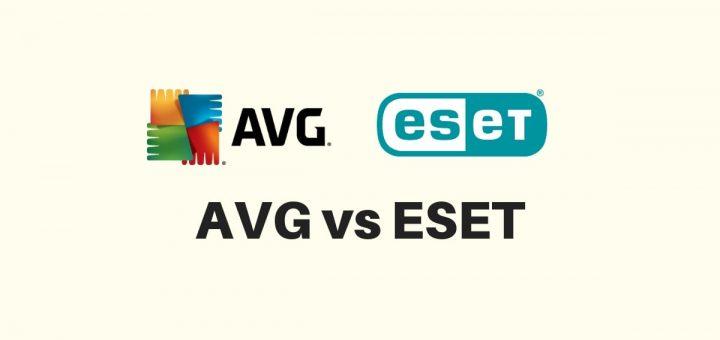 AVG vs ESET