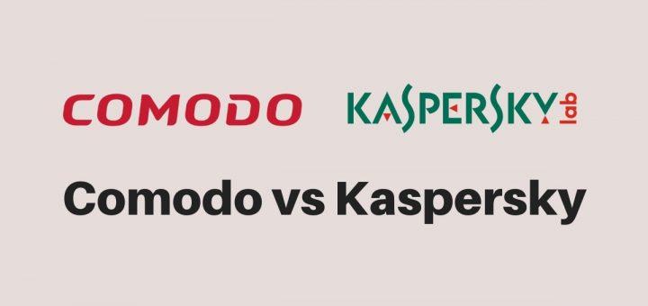 Comodo vs Kaspersky