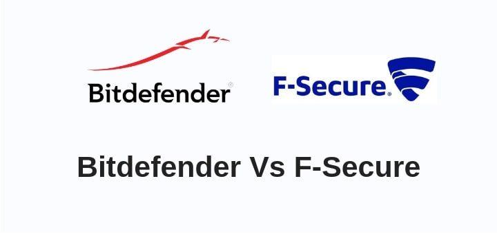 Bitdefender vs F-Secure