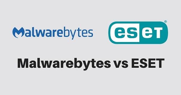 Malwarebytes vs ESET