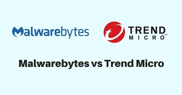 Malwarebytes vs Trend Micro