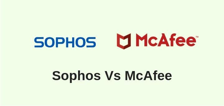 Sophos Vs McAfee