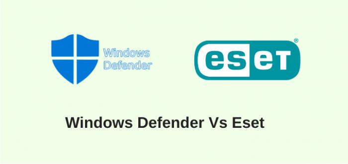 WindowsDefender-vs-Eset