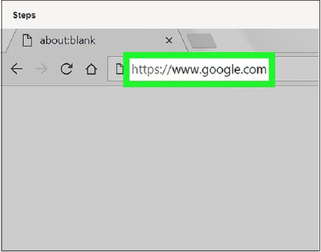 how to find a url of a website