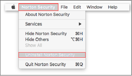 select-norton-security-to-uninstall